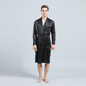 mens-mulberry-silk-lapel-collar-long-kimono-robes-bathrobe-soft-sleepwear-loungewear-color-black-01
