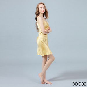 womens-silk-sexy-nightgown-100-percent-mulberry-silk-sleepwear-v-neck-bow-knot-camisole-pajamas-color-yellow-01