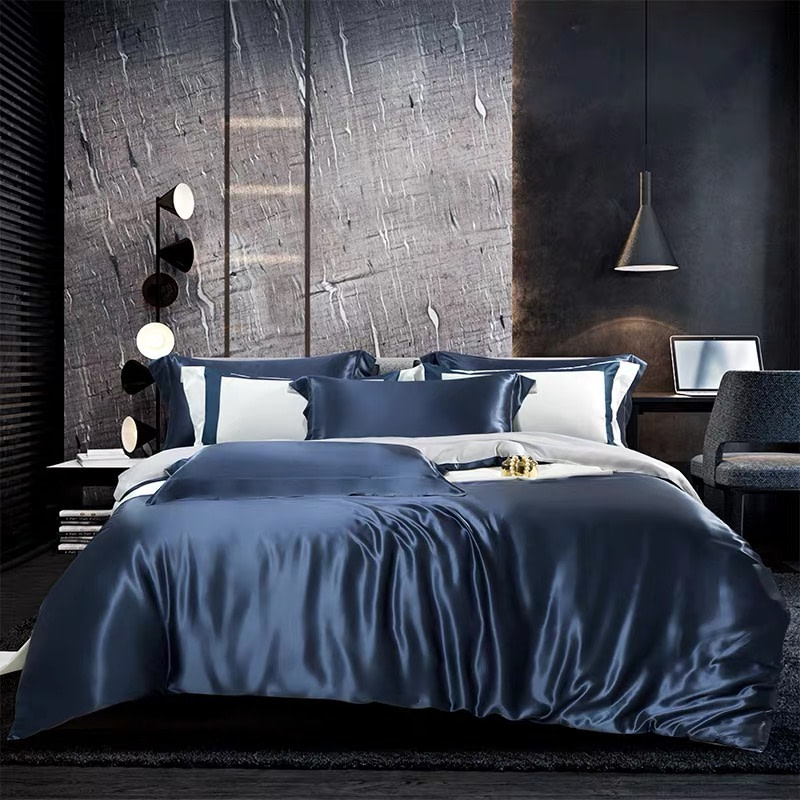 25-momme-luxury-100-percent-mulberry-silk-bed-set-with-resin-buttons-color-blue