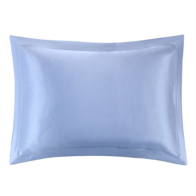 100-percent-mulberry-silk-pillowcase-classic-envelope-closure-2-inch-light-blue