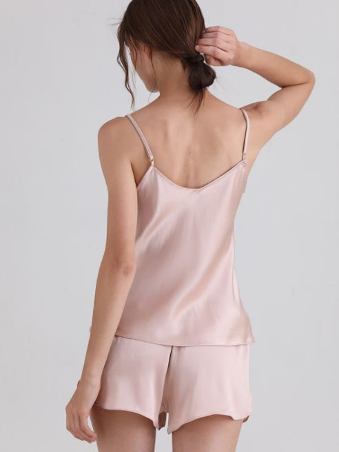 womens-mulberry-silk-v-neck-pajamas-set-sleeveless-sleepwear-cami-set-with-short-pants-nightwear-color-pink-03