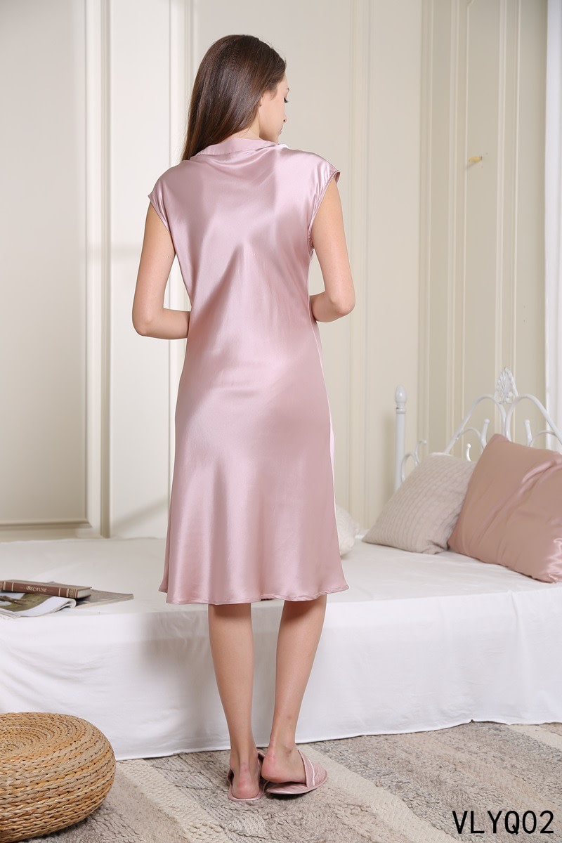 100-percent-mulberry-v-neck-nightgown-dress-for-women-sleepwear-chemise-color-pink-02