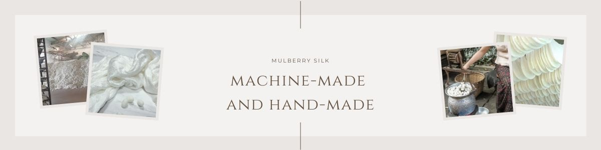 machine-made and hand-made